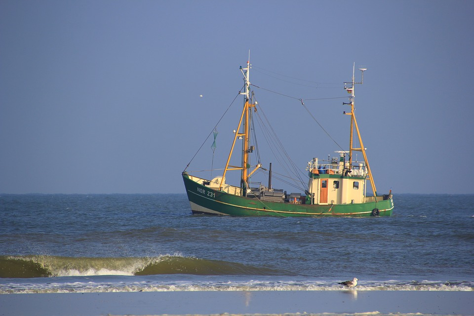 North Sea, Fishing Boat, Fishing, Sea, Coast