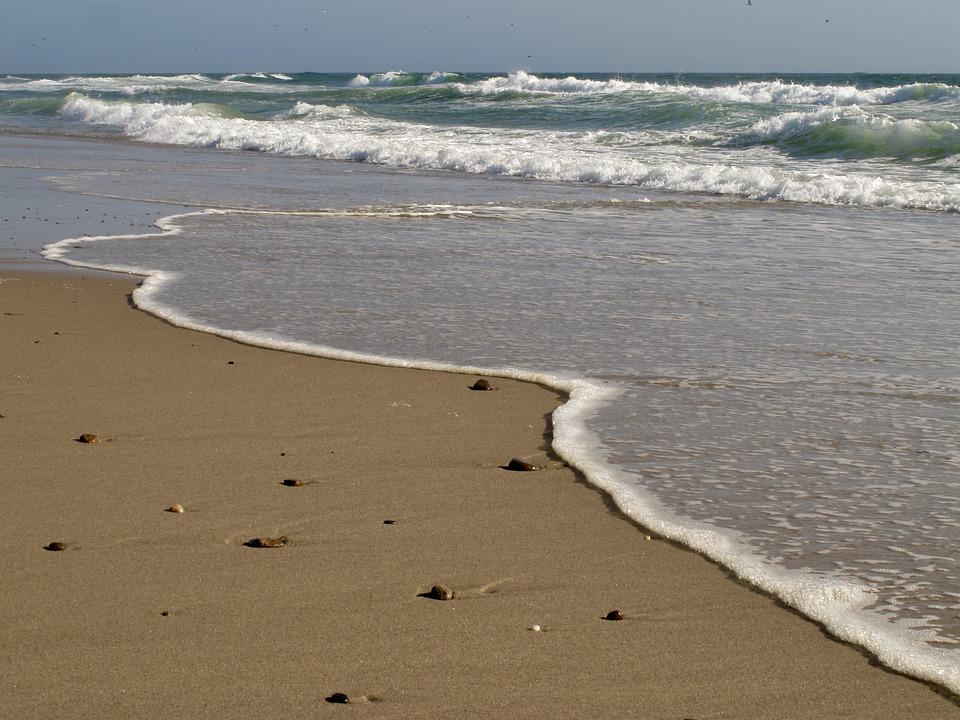 Beach, Sand, Ocean, Sea, Water, Sky, Summer, Coast