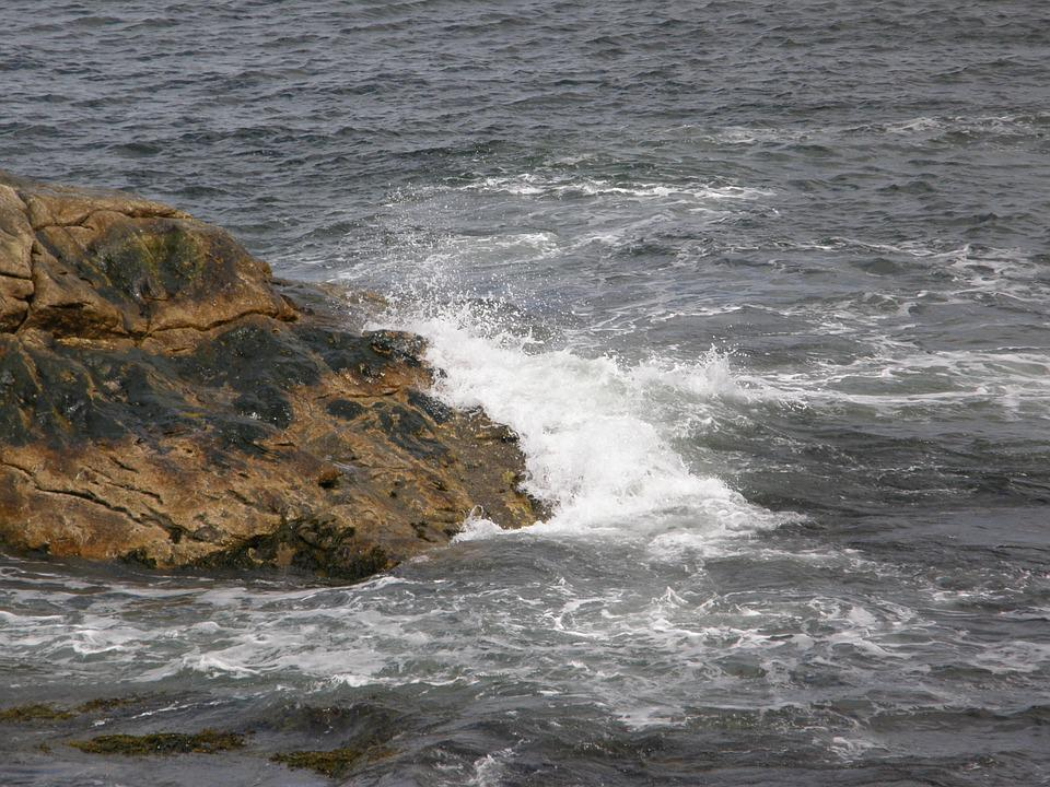 Beach, Maine, Surf, Sea, Ocean, Water, Coastline, Coast