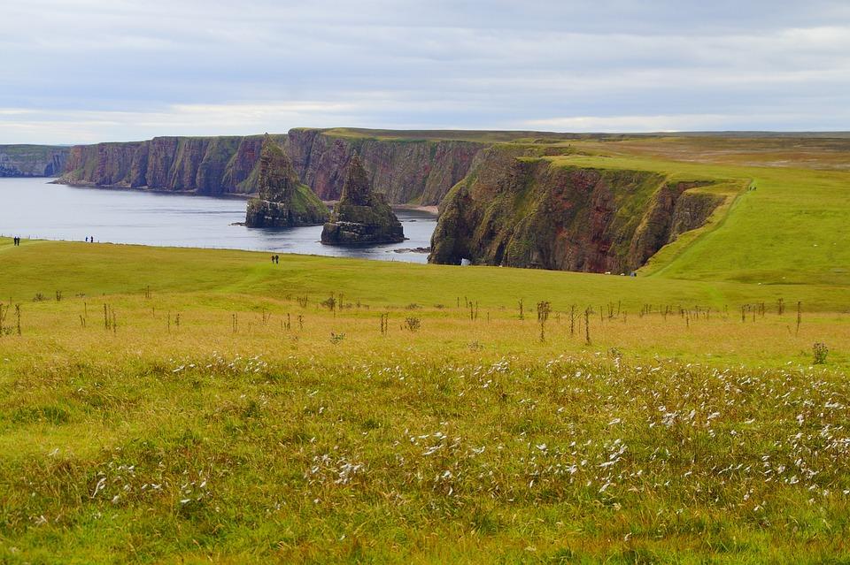 Coast, Scotland, Rock, Cliff, Rock Needles
