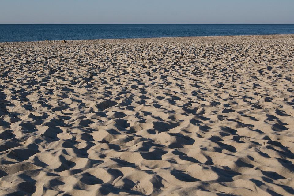 Sand, Sea, Beach, Water, Summer, Coast, Empty