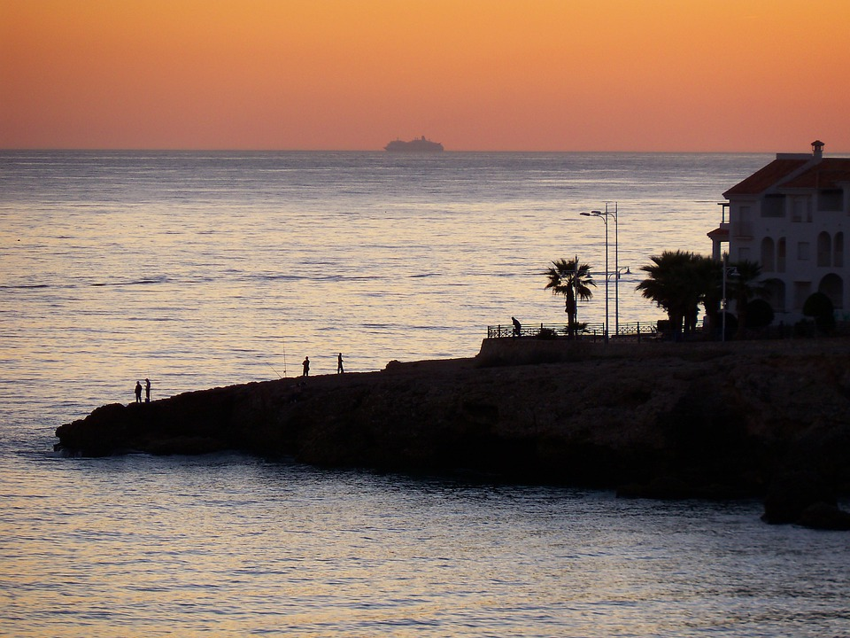 Sea, Mediterranean, Ocean, Point Promontory, Coast