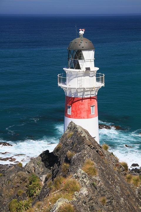 Lighthouse, Navigation, Beacon, Coast, Maritime, Shore