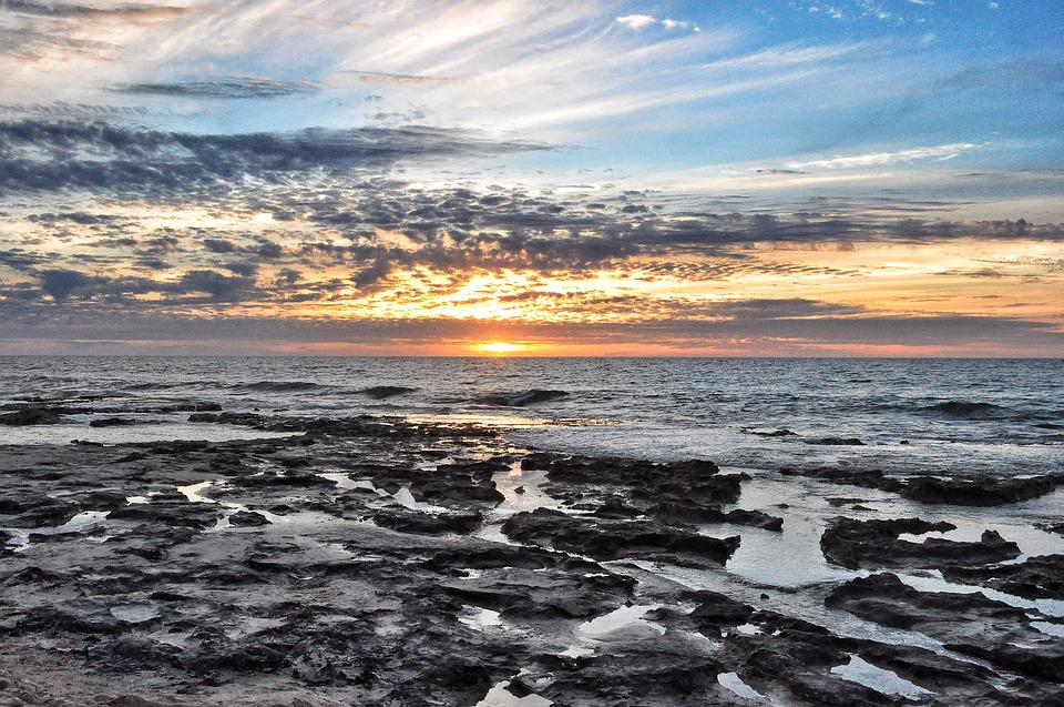 Ocean, Rocks, Beach, Sea, Shore, Water, Coast