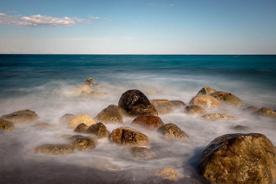 Sea, Stones, Winds, Coast, Pebble, Beach