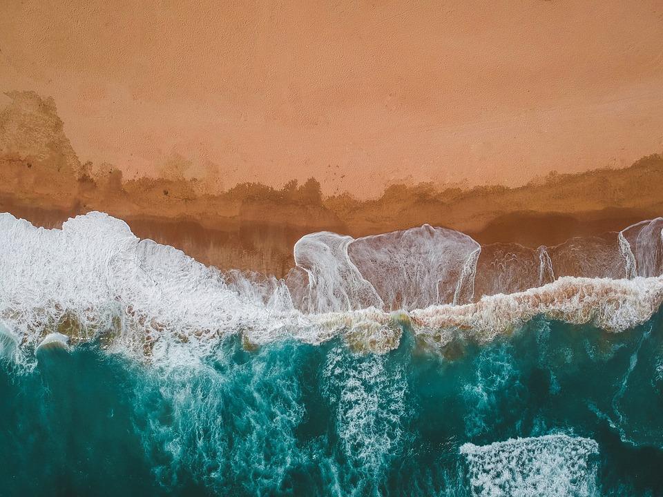 Beach, Ocean, Waves, Coast, Shore, Nature, Water