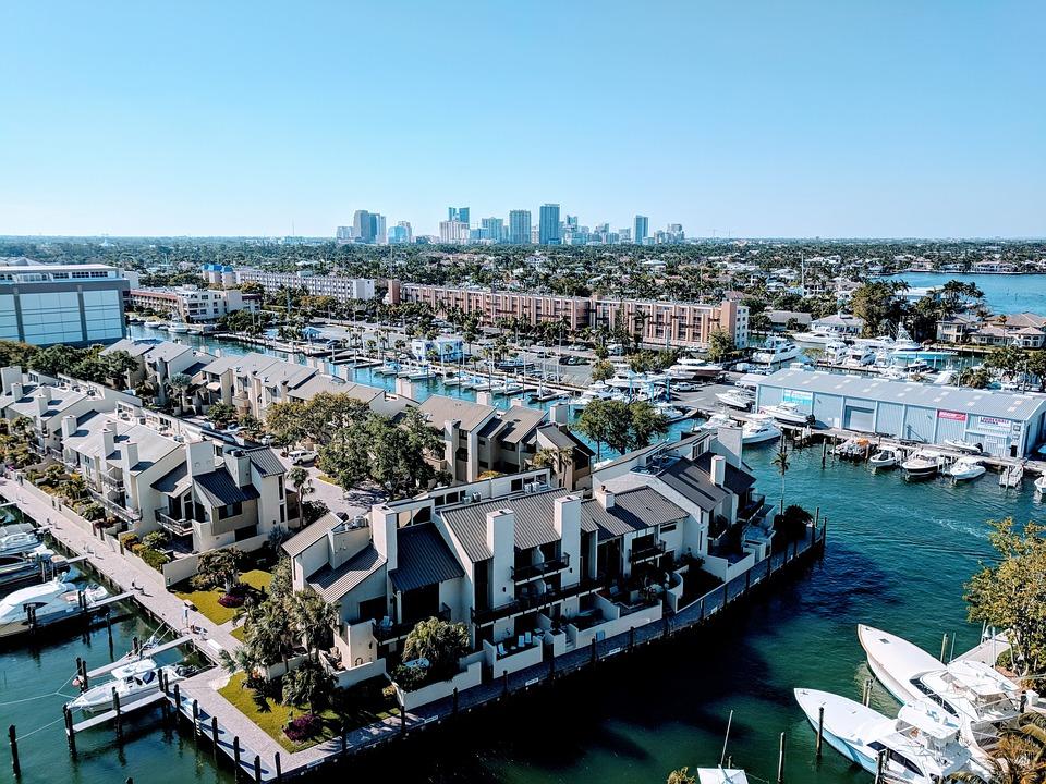 Fort Lauderdale, Coastal Area, Boats, Florida, Coastal