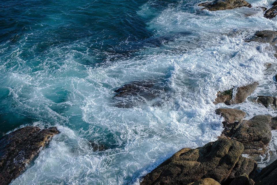 Waves, Sea, Rock, Wave, Coastal, Nature, Travel