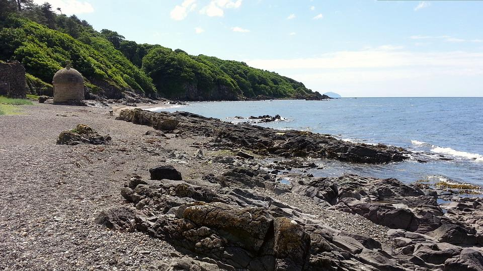 Rocky, Beach, Rocks, Sea, Landscape, Coastline, Coast