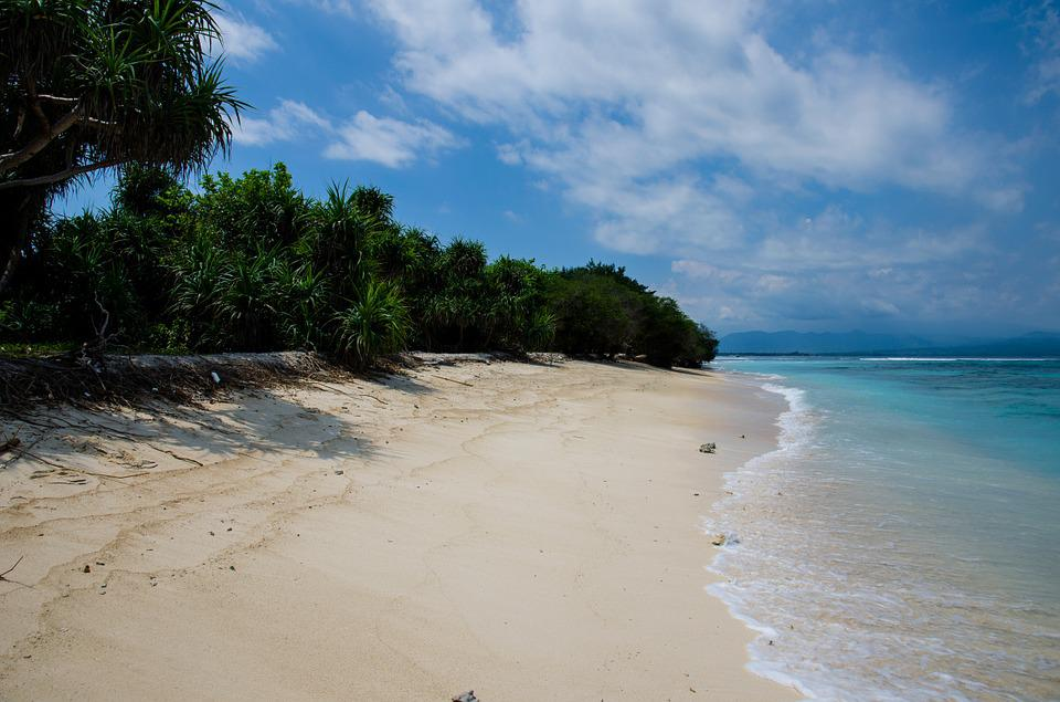 Sandy Beach, Seaside, Shore, Coast, Coastline, Ocean