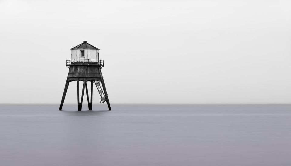 Lighthouse, Tower, Sea, Ocean, Coast, Coastline, Shore