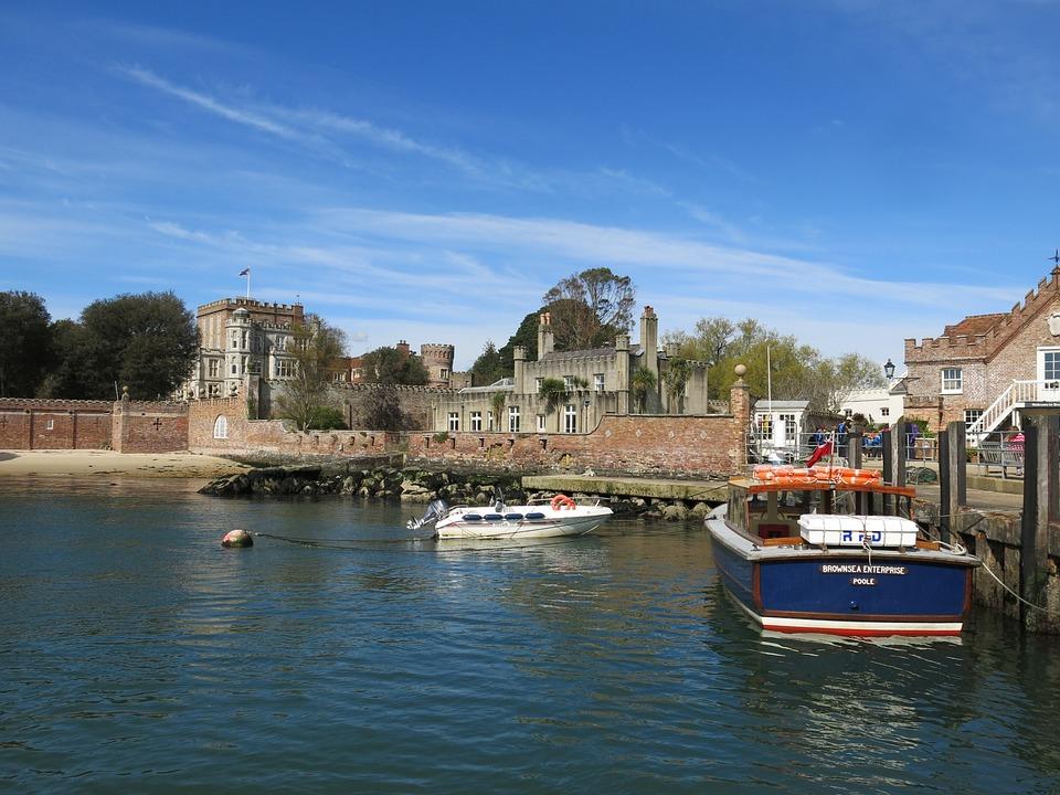 Brownsea Island, Dorset, Travel, Uk, Coastline, Britain