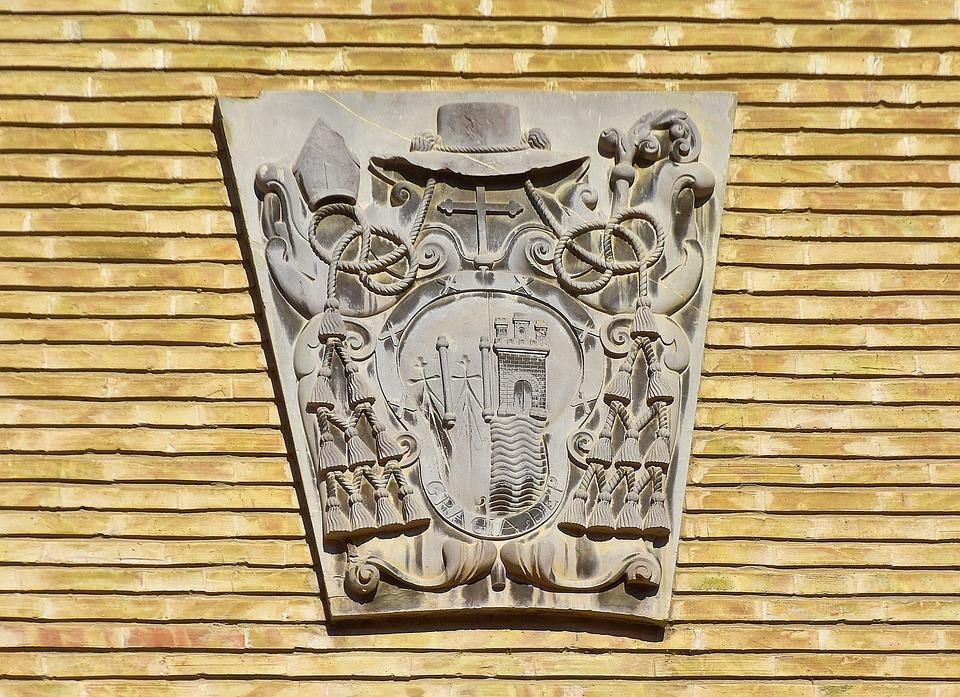 Coat Of Arms, Heraldry, Saragossa, Medieval, Logo