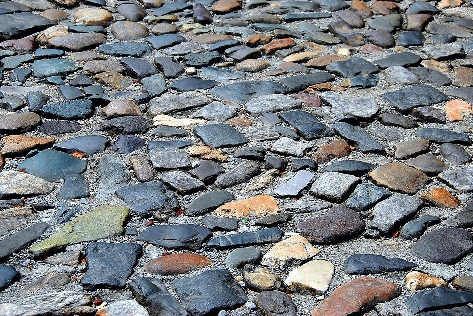 Cobble Stone, Background, Backdrop, Street, Stone, Road