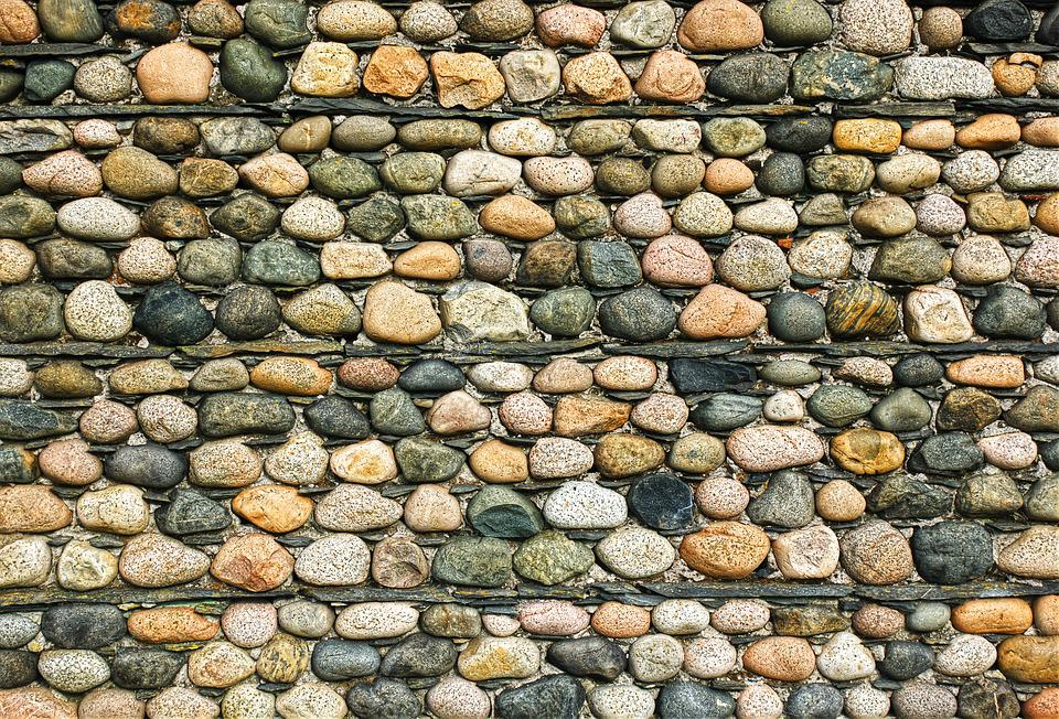Wall, Stone, Cobble, Texture, Pattern, Layer, Rustic