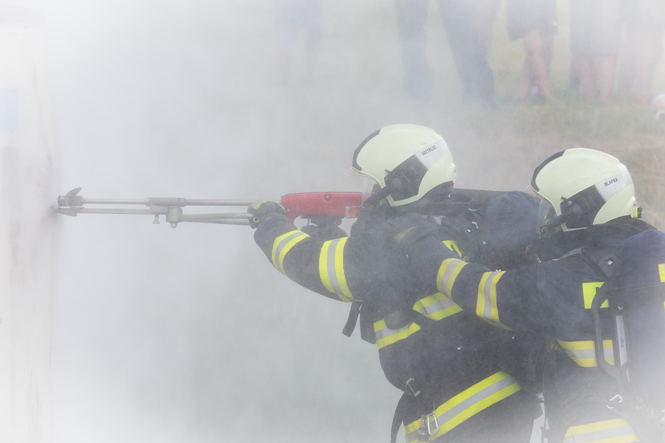 Firefighters, Eig, Water, Cobra, Rescue, Extinguishing