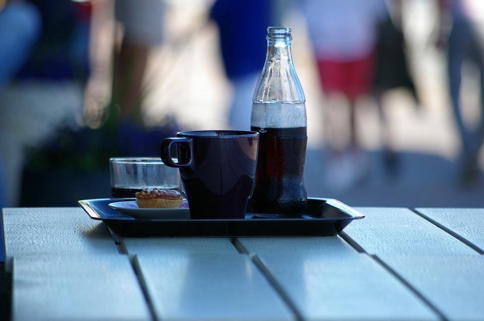 Café, Coffee Break, Cup, Cocacola, Pause
