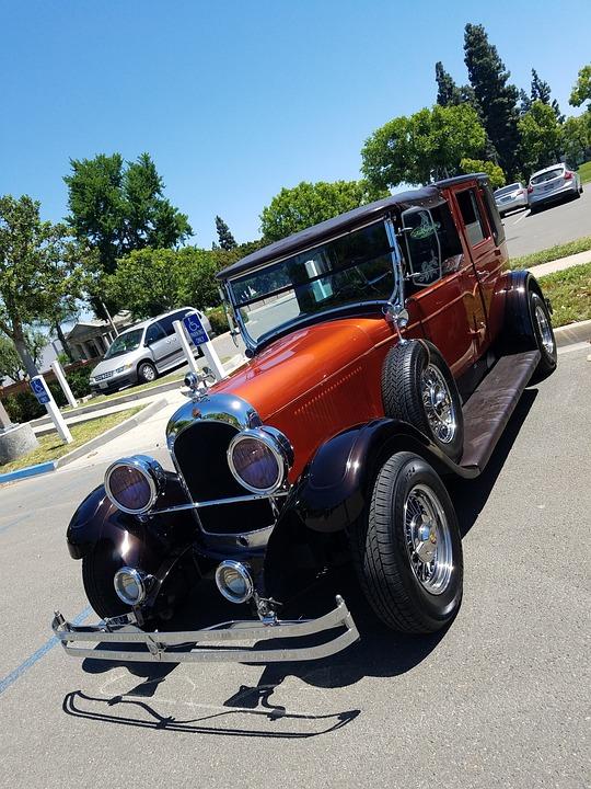 Classic Car, Old Car, Vintage Car, Carro Antiguo, Coche