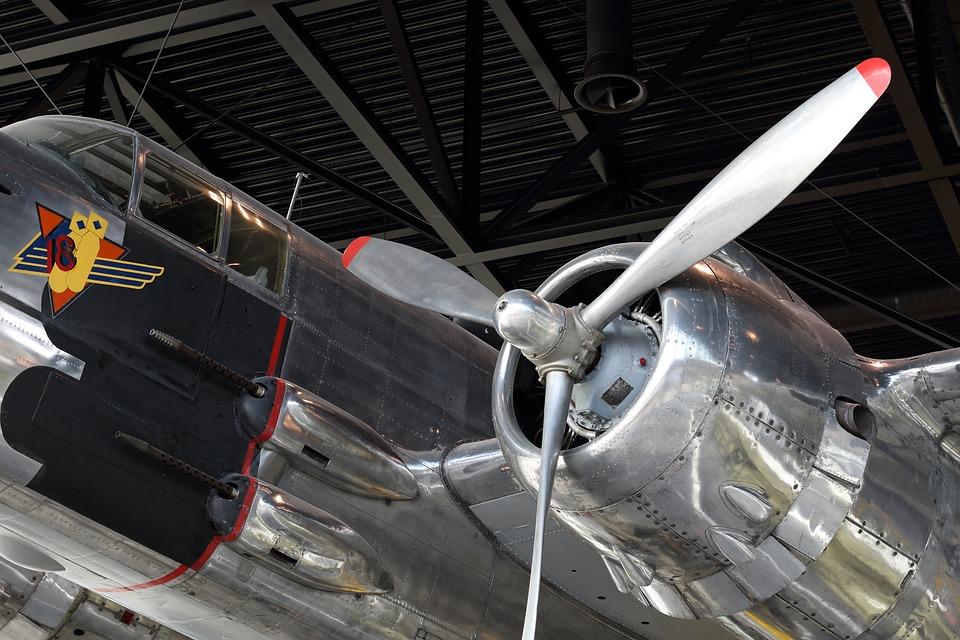 Airplane, Plane, Bomber, Cockpit, Gun, Canopy, Military