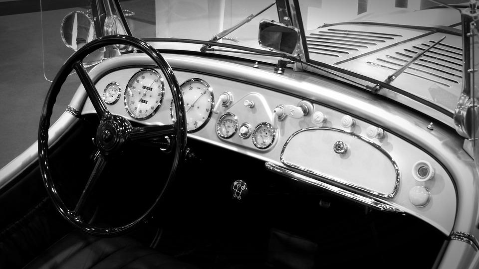 Oldtimer, Cockpit, Bmw, Dashboards, Dashboard