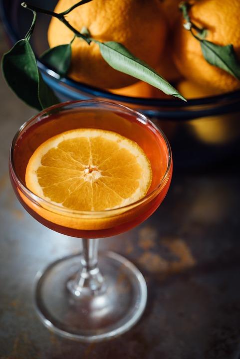 Alcohol, Cocktail, Cocktail Glass, Beverage, Citrus