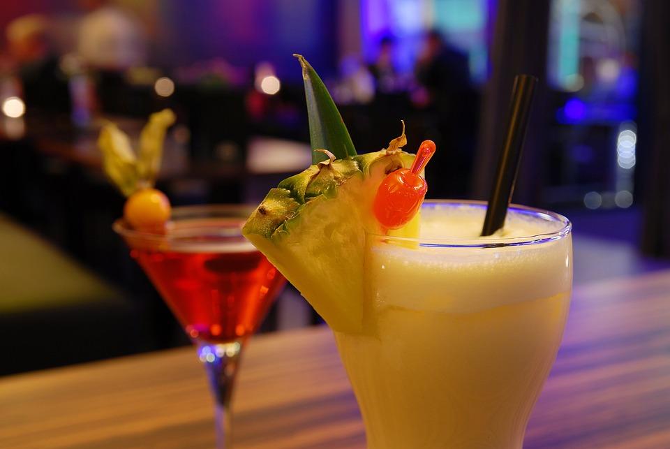 Cocktail, Bar, Night