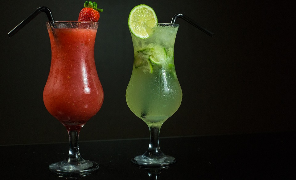 Brazil, Cocktails, Lemon, Strawberry, Drink, Summer