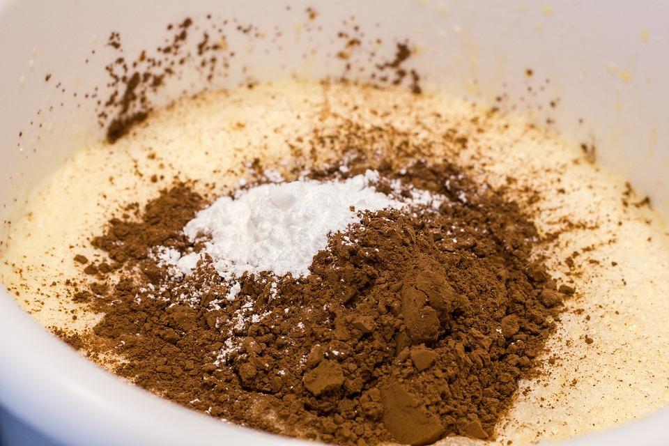 Baking, Cake Making, Cocoa, Flour, Kitchen, Food