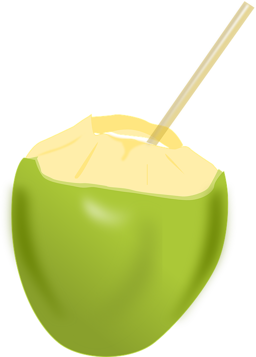 Coconut, Fruit, Beverage, Drinks, Food, Coconut Milk