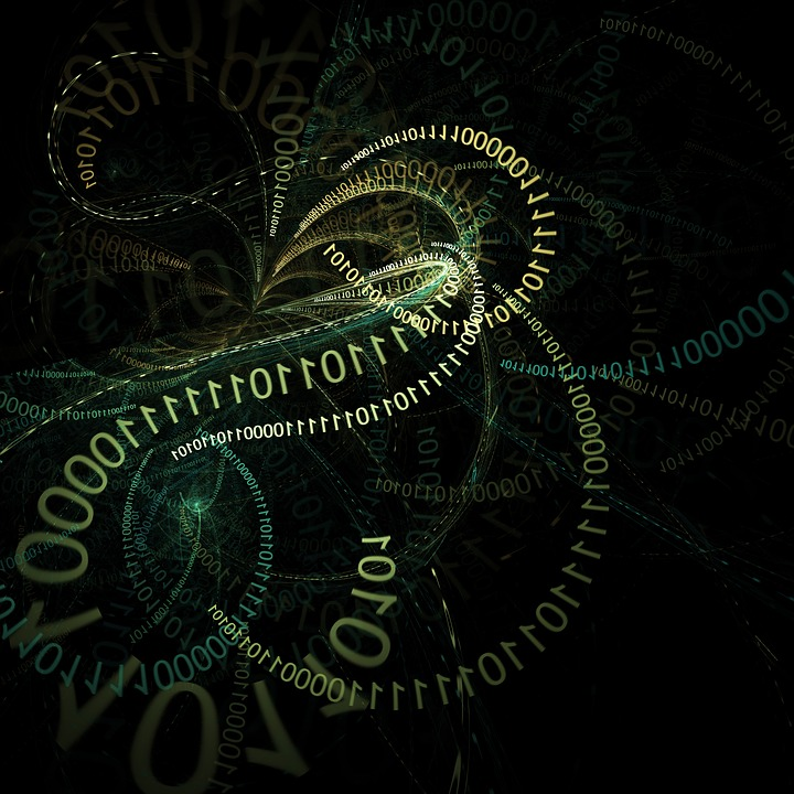 Digital, Abstract, Binary, Code, Coding, Communication