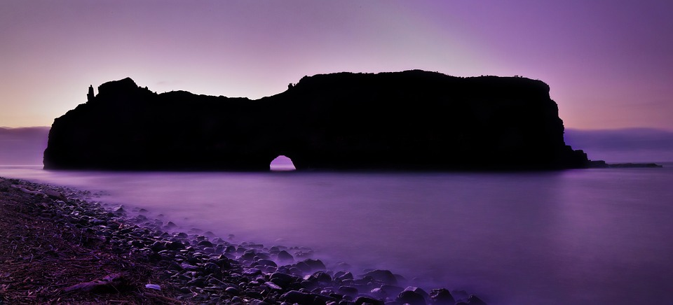 South Africa, Coffee Bay, Hole In The Wall, Mountain