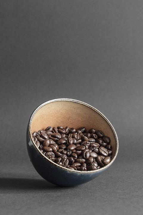 Coffee, Beans, Coffee Bean, Mörkrostad, Roasted
