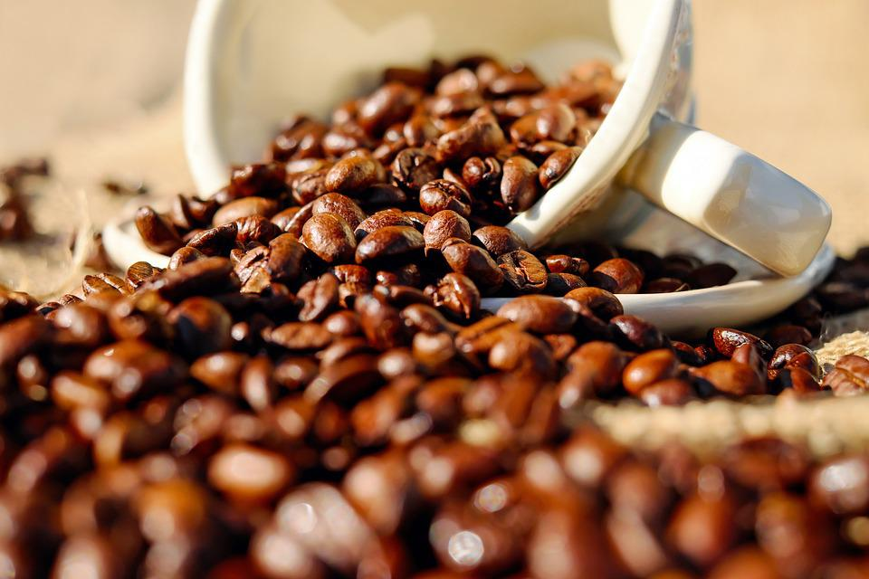 Coffee, Coffee Cup, Porcelain, Coffee Beans, Beans