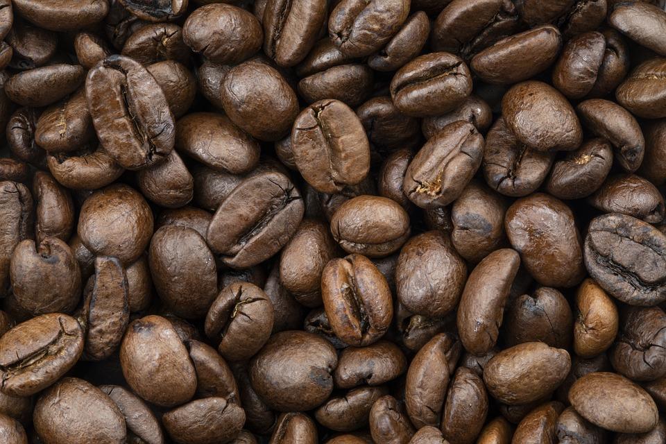 Coffee, Beans, Coffee Beans, Roasted, Caffeine, Brown