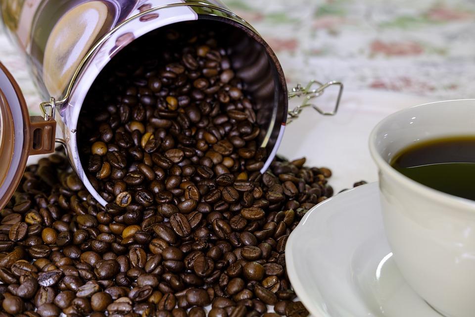 Coffee Beans, Coffee, Coffee Tin, Caffeine, Beans, Cafe