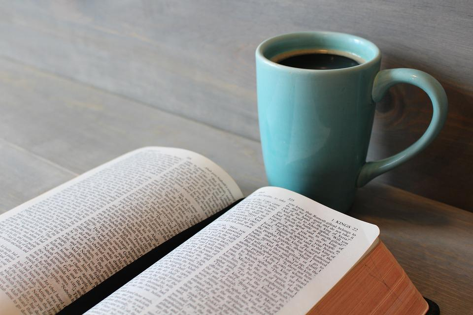 Bible, Study, Coffee, Cup, Religion, Christianity