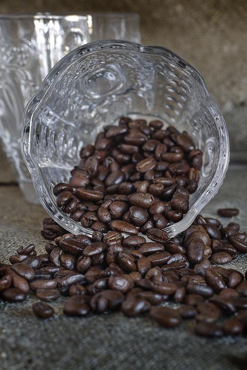 Coffee, Bean, Coffee Bean, Mörkrostad, Beans, Roasted