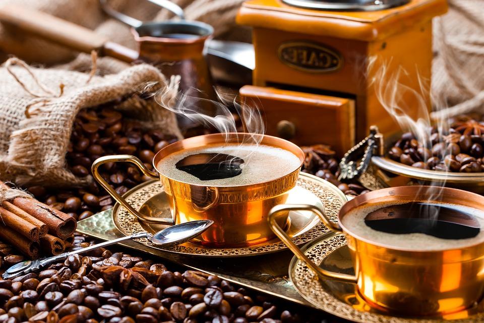 Coffee, Coffee Beans, Coffee Cups, Drink, Hot Coffee