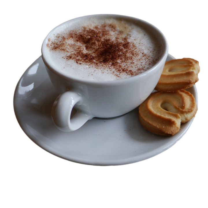 Coffee, Café Au Lait, Cup, Cookies, Coffee Cup