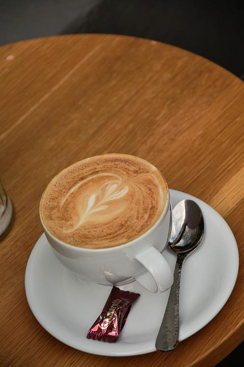 Coffee Coffee Mug, Flower, Brown, Enjoy