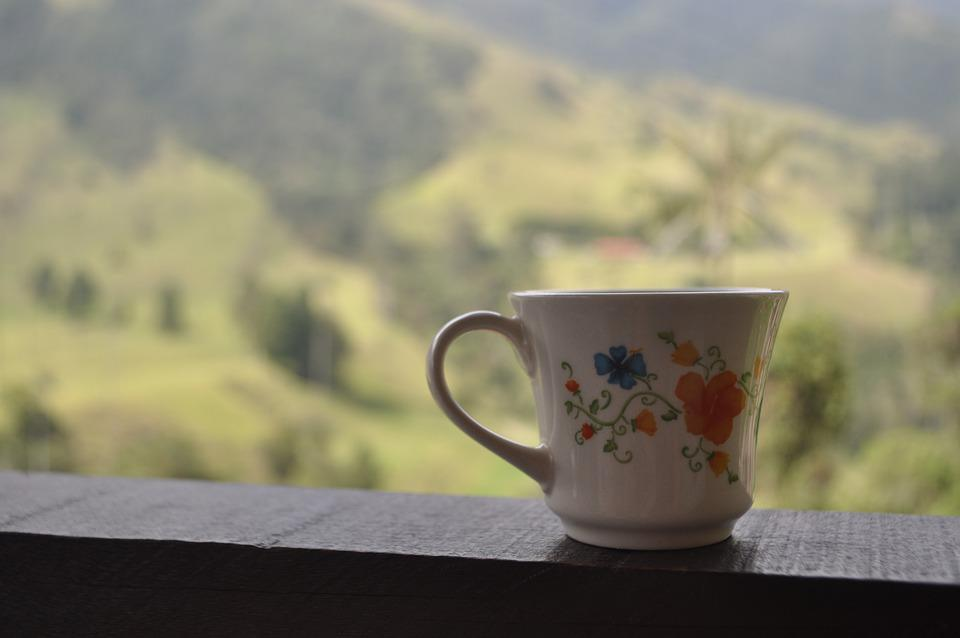 Colombia, Coffee, Cup, Morning