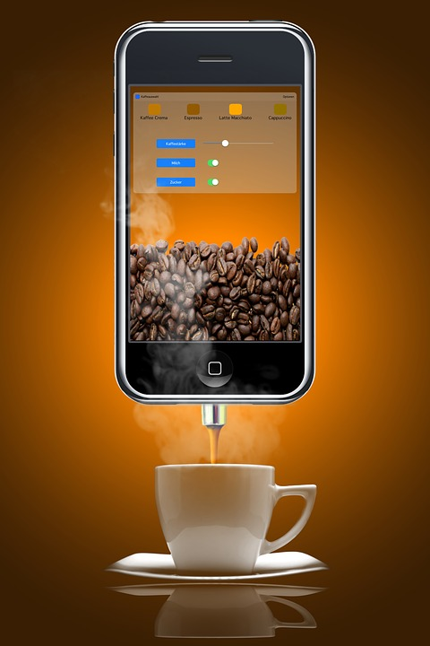 Coffee, Tea, Espresso, Cappuccino, Coffee Cup, App, Fun