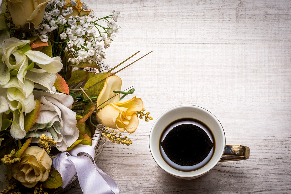 Flower, Decoration, Romance, Bouquet, Romantic, Coffee