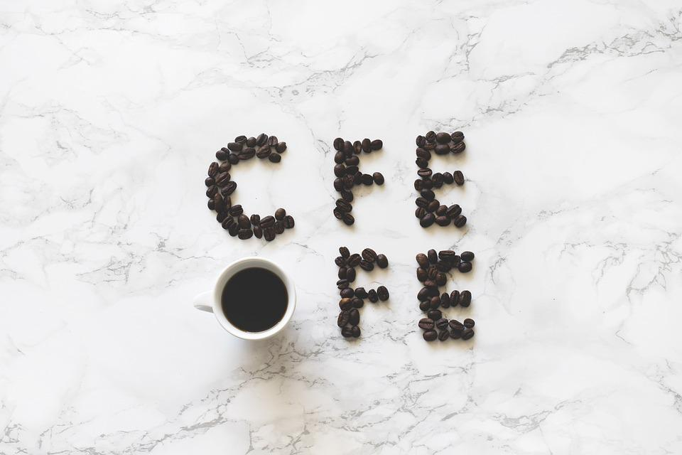Coffee, Cup, Caffeine, Coffee Beans, Drink, Text