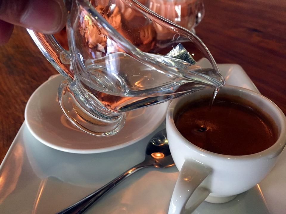 Each, Coffee, Espresso, Water