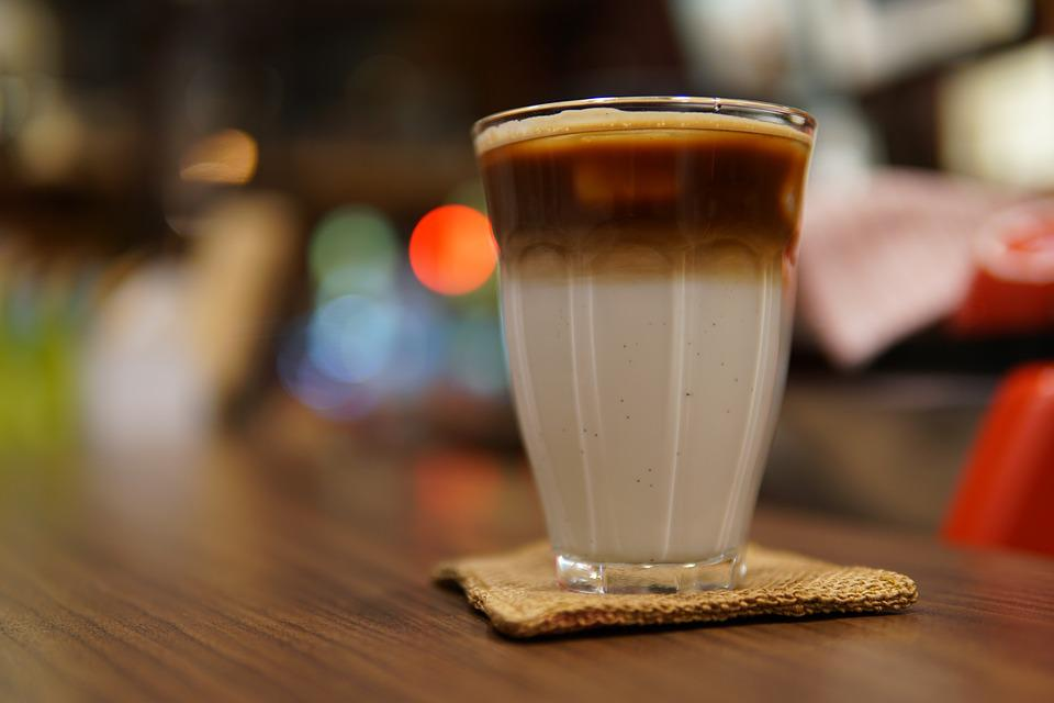 Coffee, Latte, Cafe, Coffee Shop, Food, Caffeine, Night