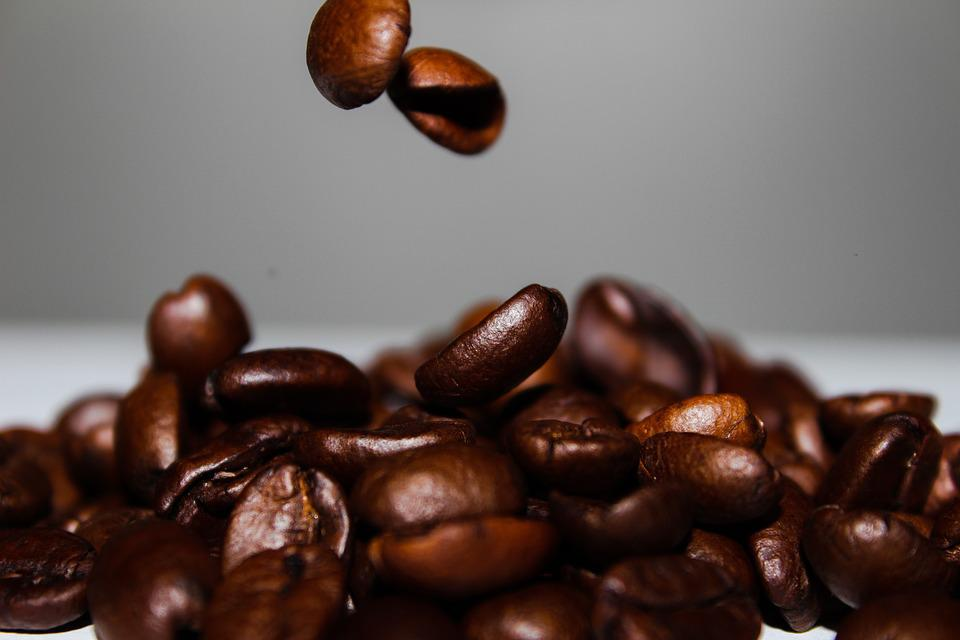 Food, Coffee, Slow Motion, Falling, Coffee Beans