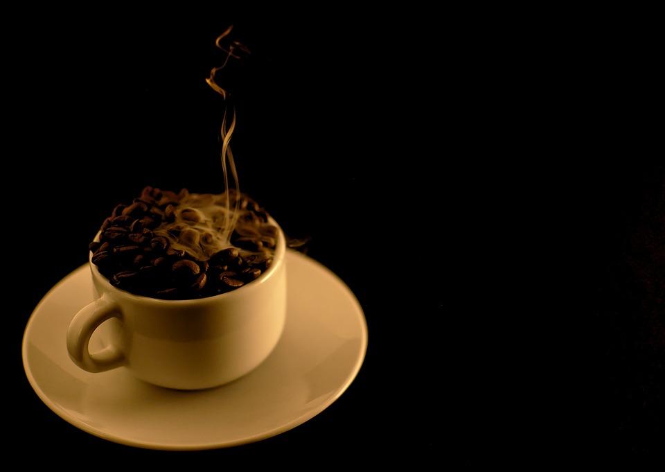 Coffee, Java, Hot, Fuming, Smoke, Coffee Cup, Cup