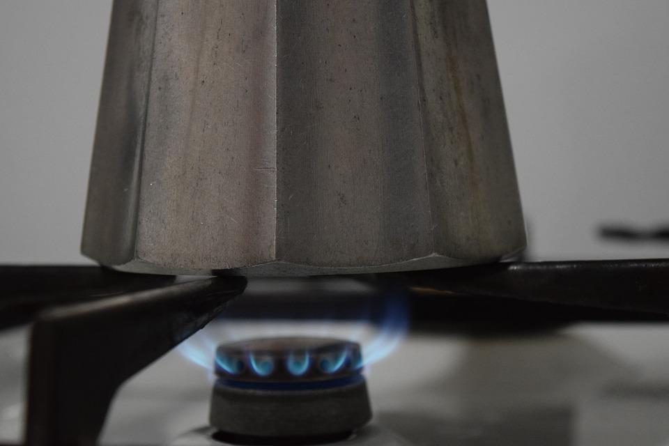 Gas, Gas Flame, Gas Stove, Cook, Hot, Energy, Coffee