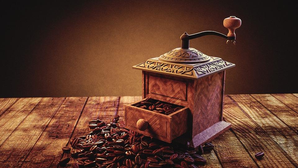 Coffee Grinder, Coffee, Powder, Coffee Grounds, Drink